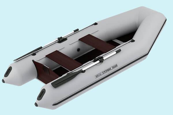 моторная лодка стрим-3100 бескилевая