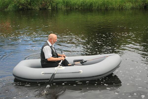 надувная лодка дельфин 2+