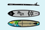sup доска stormline power max model 11.6 touring series
