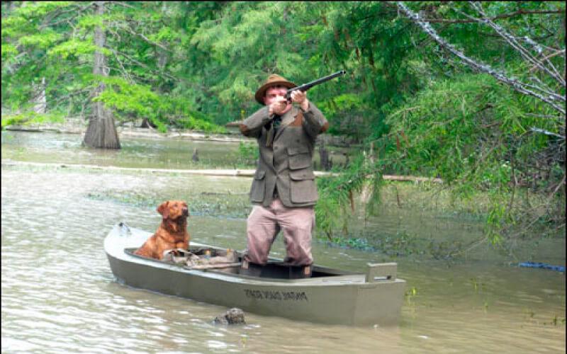 Выбор лодки для охоты
